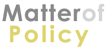 Matter of Policy - Logo